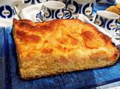 Bizcocho membrillo almíbar queso crema
