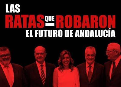 LAS RATAS DEL PSOE DE ANDALUCÍA
