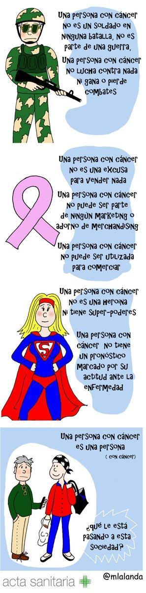 Las personas con enfermedad grave no son súper-héroes ni deben serlo.