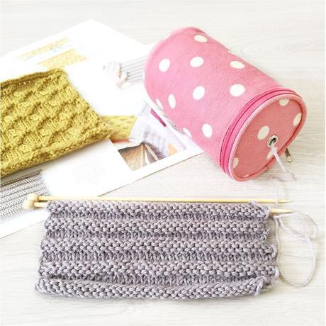 cajita kit & knit porta lanas