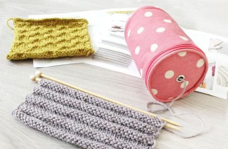cajita kit & knit portalanas