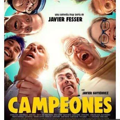 Nos vamos al cine y en Cartelera tenemos la película: Campeones