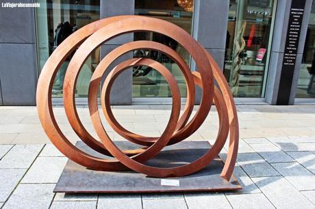 Ruta de escultura urbana en Vaduz