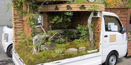 Jardínes Zen sobre cuatro ruedas.