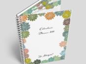 Calendario 2019 suculentas páginas planner
