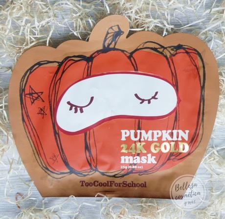 Pumpkin Mask Too Cool for School