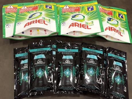 Probando Ariel 3en1 PODs y Lenor UNstoppables gracias a Próxima a Ti