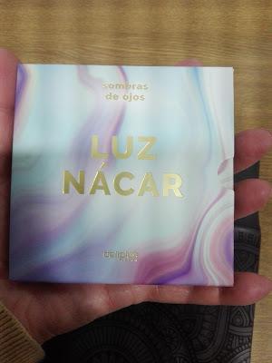 IMagen Paleta Luz Nacar Deliplus de Mercadona
