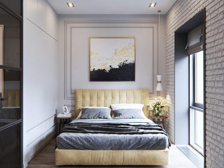 small bedroom headboard