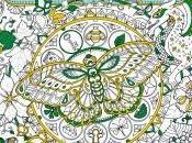 """Ivy mariposa tinta"" Johanna Basford"