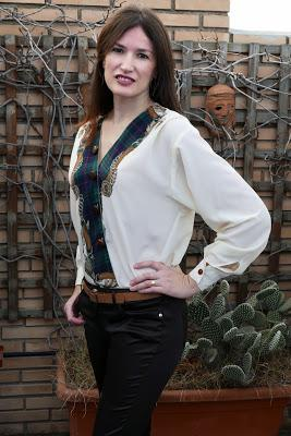 Transformar blusa desfasada