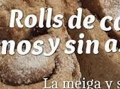 Rolls Canela Veganos Azúcar