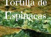 Receta tortilla espinacas,cena saludable