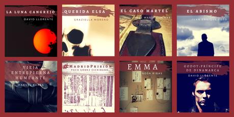 Black & Noir: Nuevas novelas de David Llorente, Graziella Moreno, José María Espinar y Juan Enrique Soto