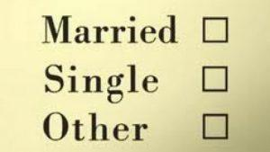 Single Unmarried Soltero Estado Civil Ingles