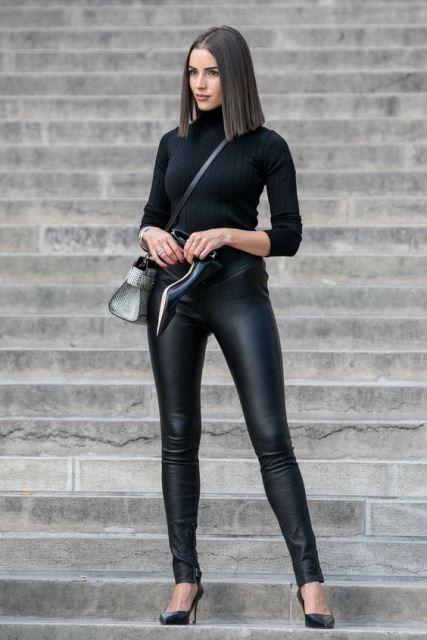 leather pants olivia pulpo