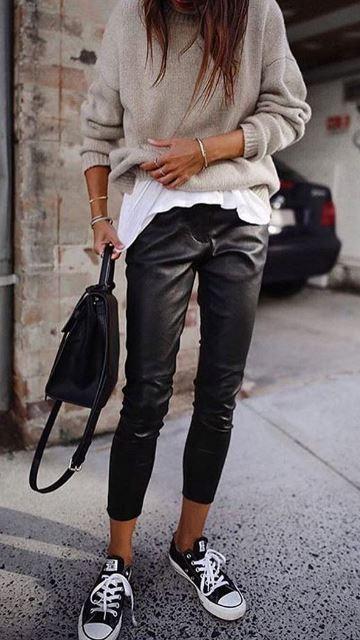 leather pants lana