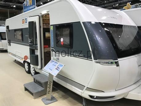 Travel Trailer Hobby 650 Kfu Prestige Modell 2018 Smolicz Pl Picture 1