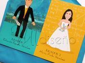 Invitaciones boda frikis