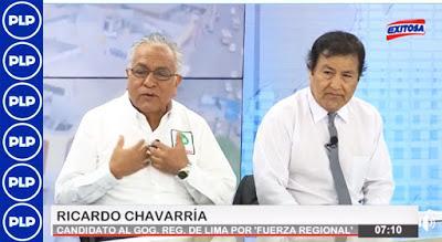 """Ricardo Chavarría: """"ESTOY COMPITIENDO CON UN FANTASMA""""…"""