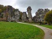 rocas Externstein Monumento Hermann bosque teutónico (Alemania)