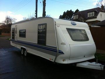 Hobby 700 Smf Exclusive Uk Special Caravan