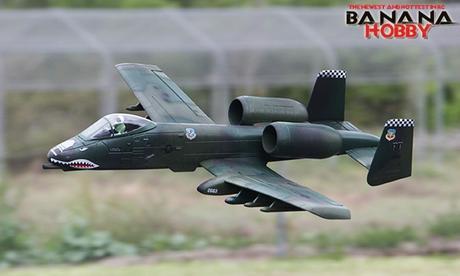 5 Ch Blitzrcworks Green O Ultimate A 10 Thunderbold Ii Super Warthog Special Edition Rc Edf Jet Radio Controlled