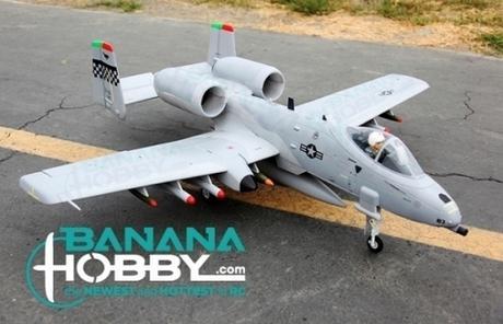 4 Ch Wing A 10 Warthog Thunderbold Ii Rc Edf Jet Rtf