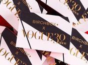 Birchbox Noviembre. Vogue años.