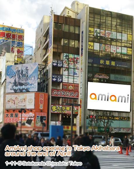 Amiamiakihabarabuild Amiami Opening In Tokyo Akihabara