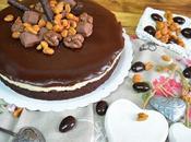 Tarta crema cacahuete brownie chocolate (dedicado fans numero uno)