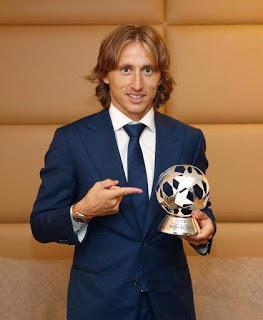 Luka Modric gana malón de oró