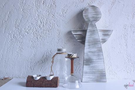 DIY: Angelitos de madera