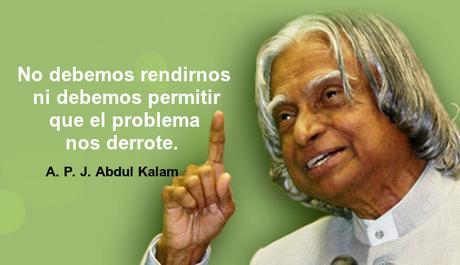 No debemos rendirnos ni debemos permitir que el problema nos derrote.