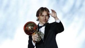Luka Modric gana el Balón de Oro y acabó con un reinado de una decada