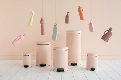 cubos de reciclaje de diseño