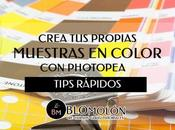Crea Propias Muestras Color Photopea