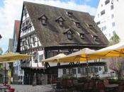 casa inclinada. Ulm. Alemania