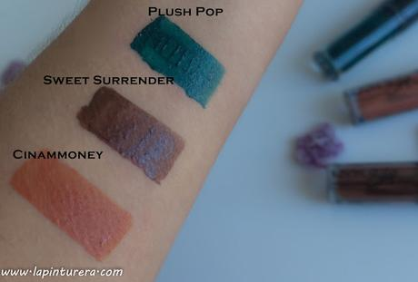 swatches marrón