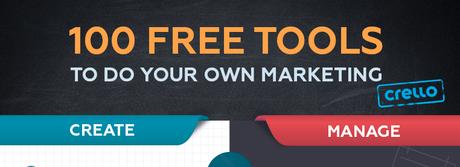 100 herramientas gratuitas de marketing para realizar la promoción de tu marca de manera efectiva