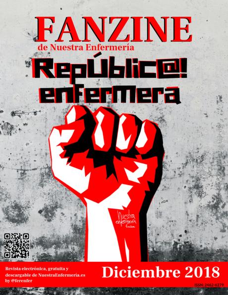 Última crónica de #enfermeriaenlared de 2018 #FanZinEnfermeria