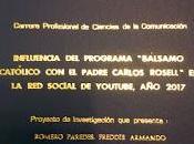 homilías Carlos Rosell tesina IESP CEPEA Freddie Romero