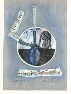 Obra visual serie músicos