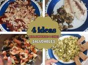Ideas para comidas sanas, ligeras ricas: algunas recetas
