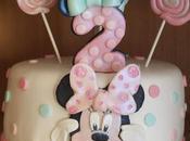 Tarta Minnie Años
