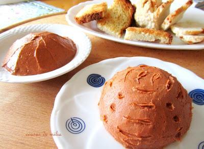 Mantequilla de marisco con y sin lactosa