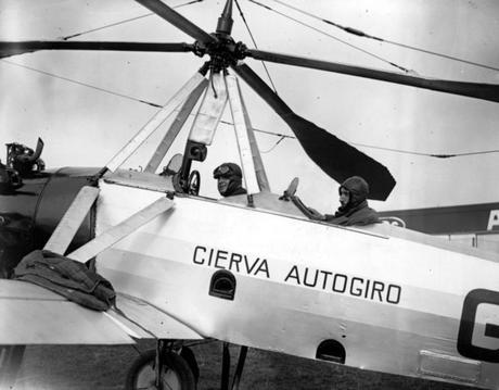 Juan de la Cierva, Autogiro