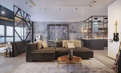 industrial loft design interior