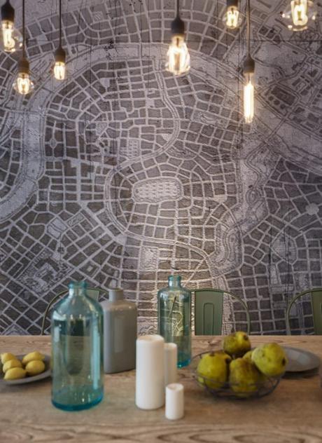 mapa mural loft