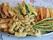 Tempura verduras
